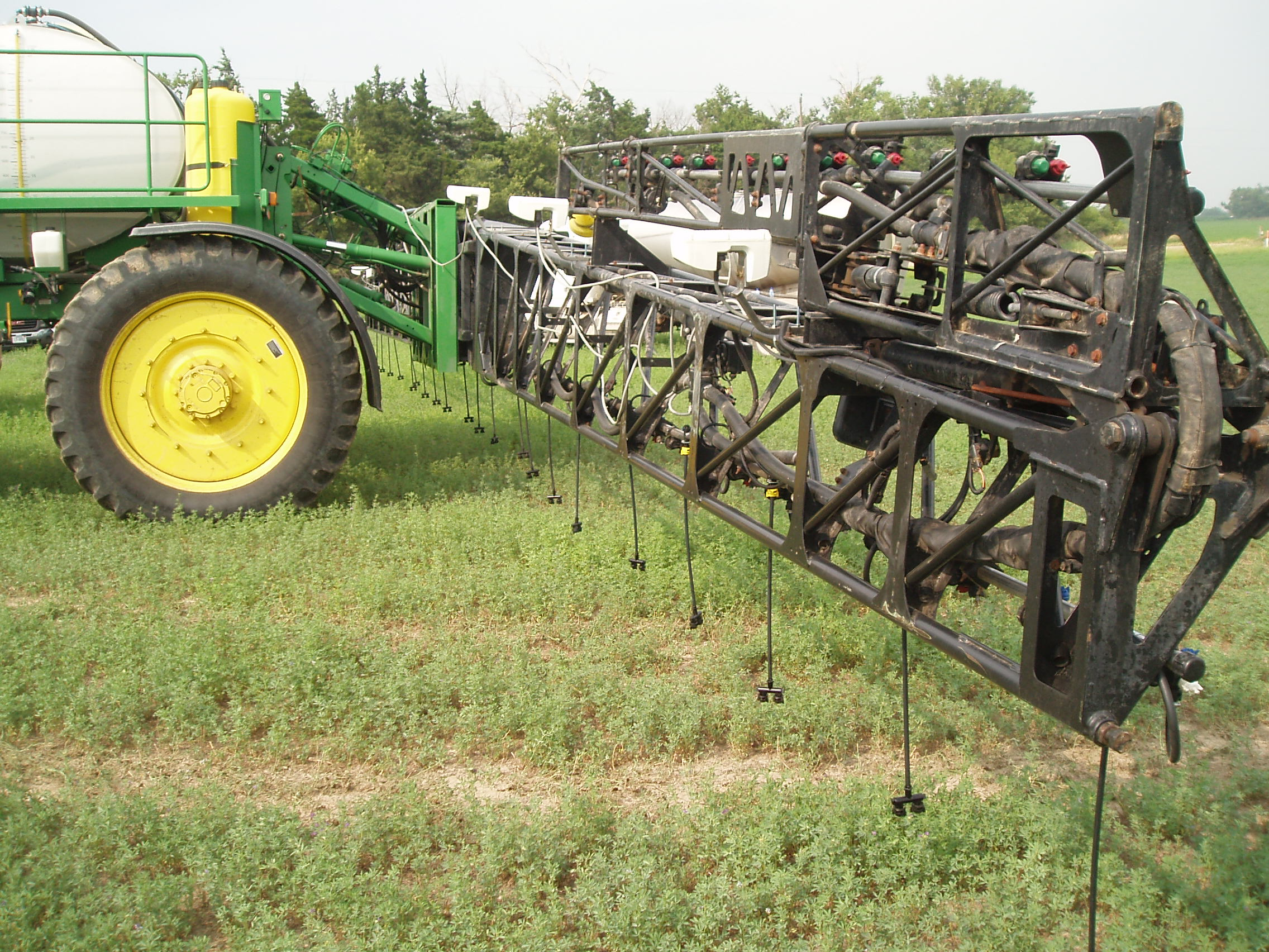 GreenSeeker N Fertilizer Applicator for Corn