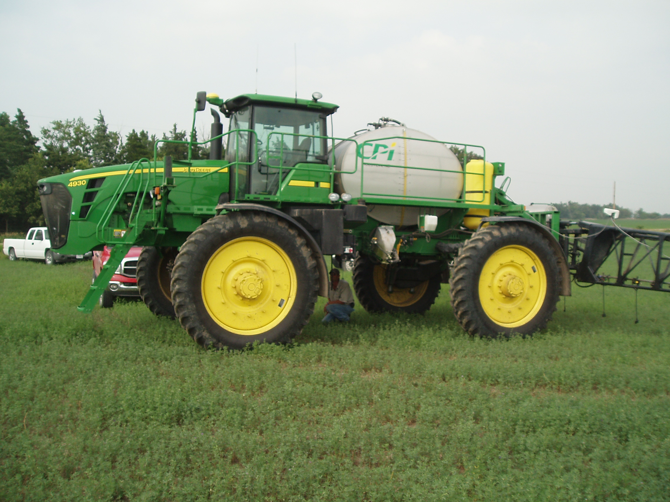 GreenSeeker N Fertilizer Applicator