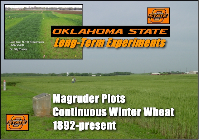 Long Term Field Experiments, Oklahoma State University