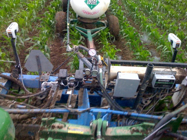 Anhydrous Ammonia GreenSeeker Nitrogen Application Unit